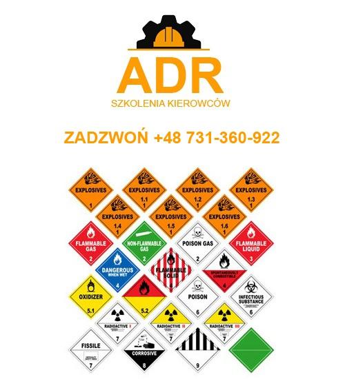 Kurs ADR dla zawodowych Kierowców w Łodzi